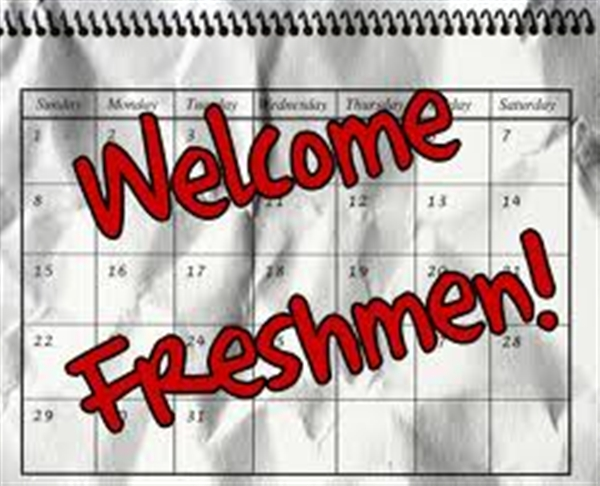 Freshman welcome
