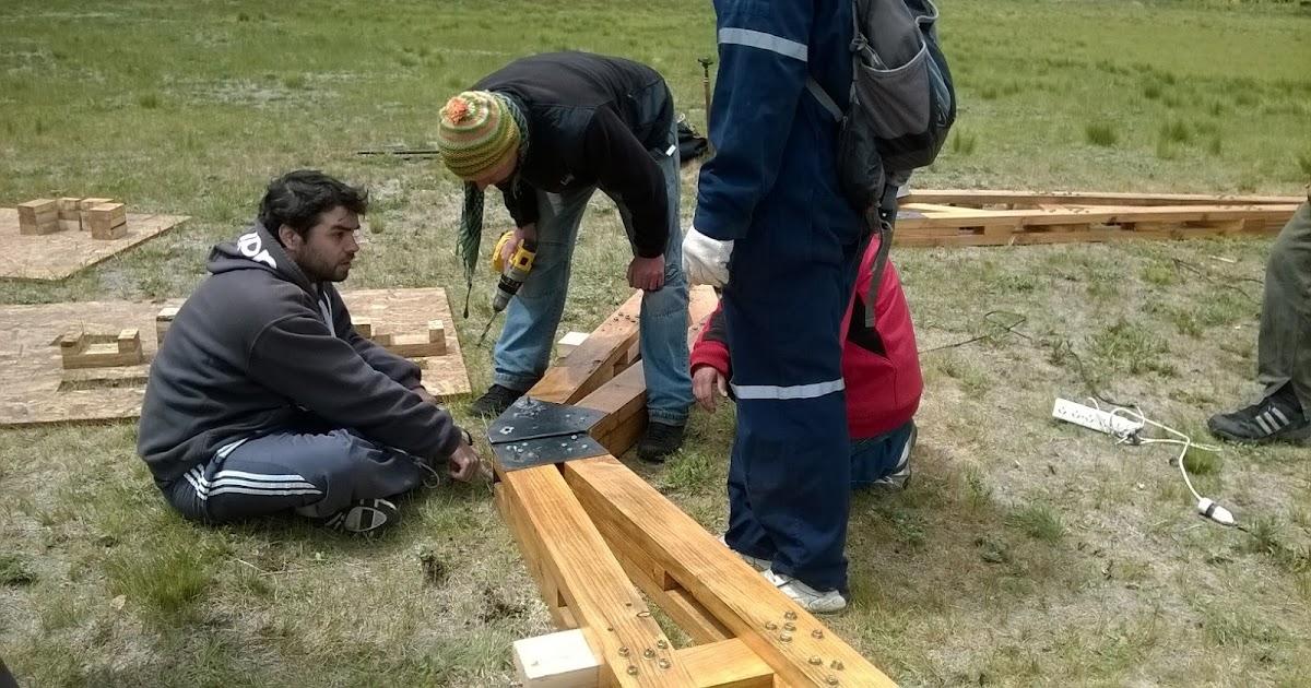 Patagonia andina forestal taller de construcci n en for Construccion de viveros forestales