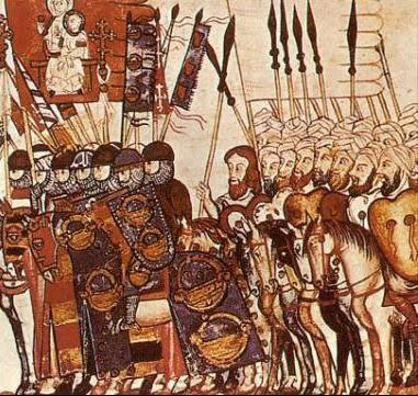 Ejército cristiano y musulmán