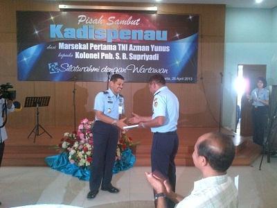 Kapten Pilot Heli Puma Jadi Kadispen TNI AU yang Baru