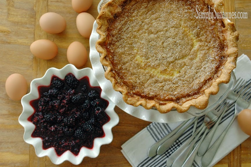 Old fashion buttermilk pie