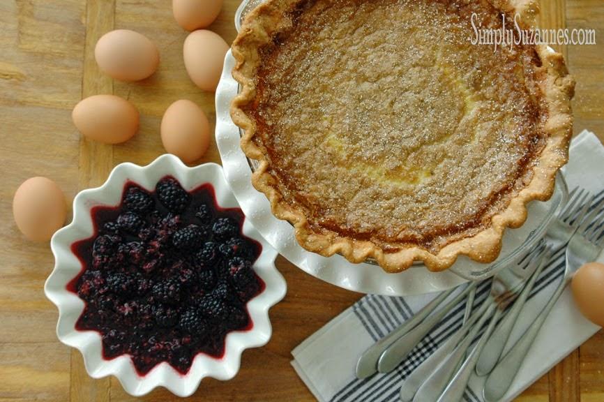 Old fashion buttermilk pie