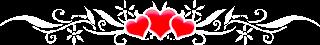 trois cœur d'amour pour dire bonne nuit