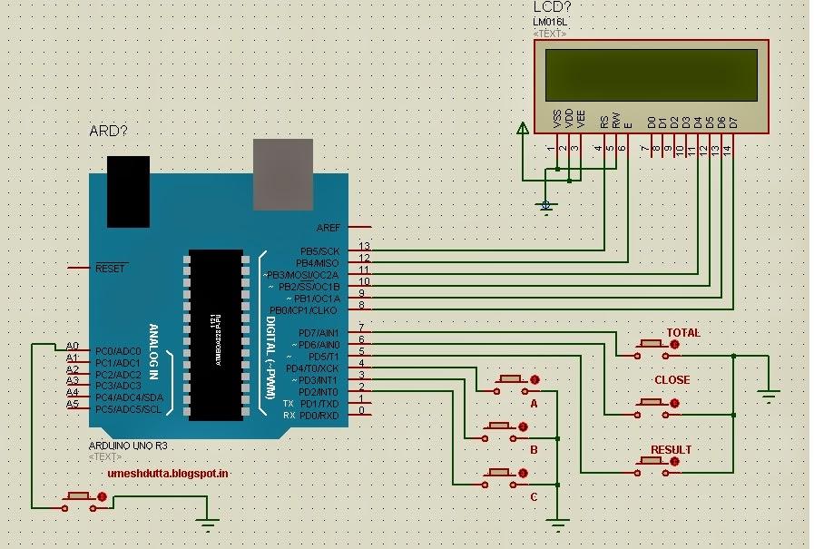 Electronic Voting Machine Using Arduino Electronics