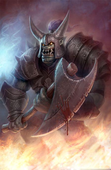 Andrew Olson ilustrações digitais fantasia arte conceitual Orcs Must Die