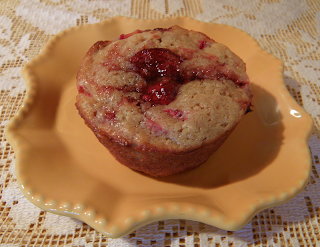 Strawberry Muffin Plated