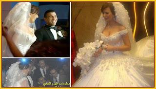 اللاعب عماد متعب وزوجته ملكة جمال مصر يارا نعوم