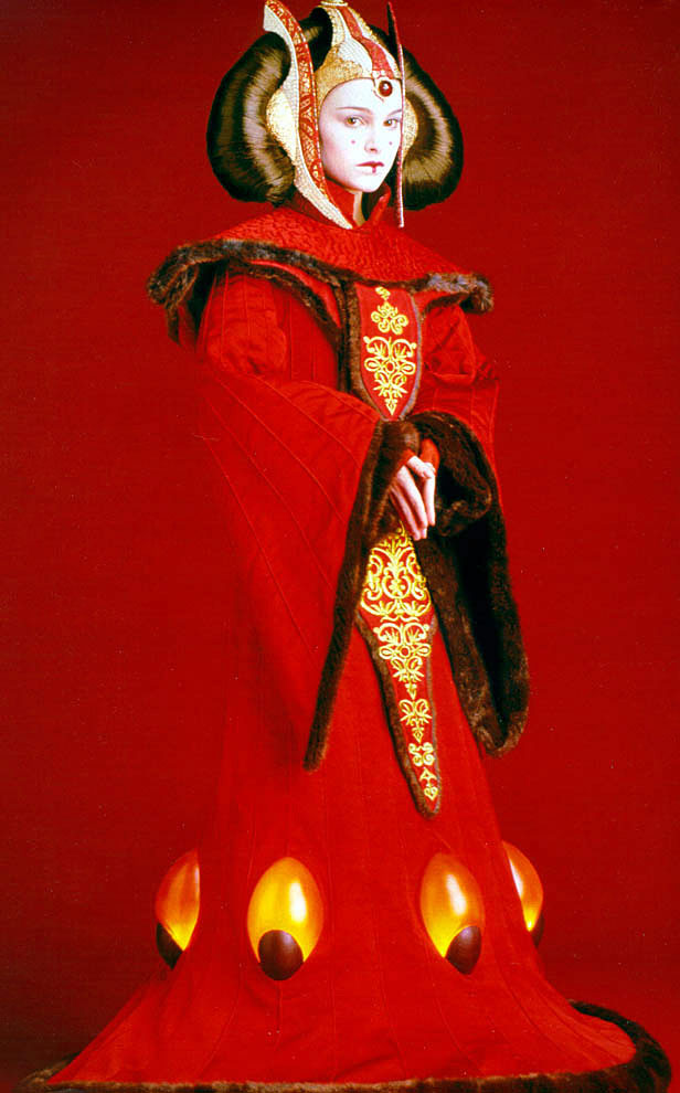 Costumes and Couture by Kris: Queen Amidala Red Invasion Gown