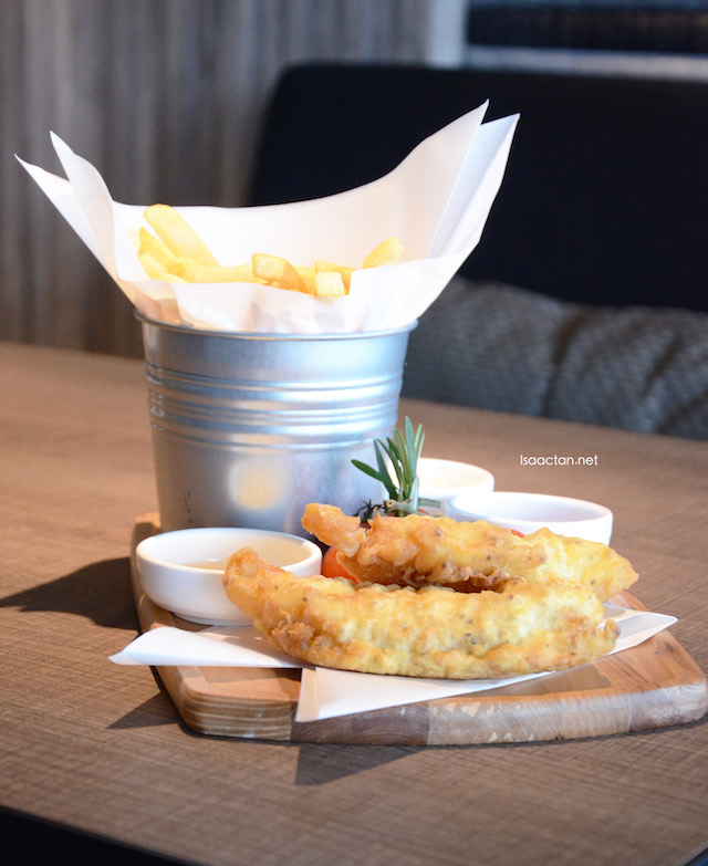 The Englishman's Fish & Chips - RM26