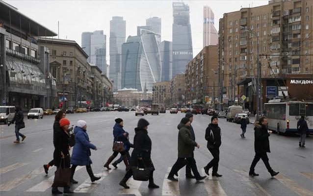 Ρωσία: Συρρίκνωση ΑΕΠ κατά 4,2% τον Ιούνιο