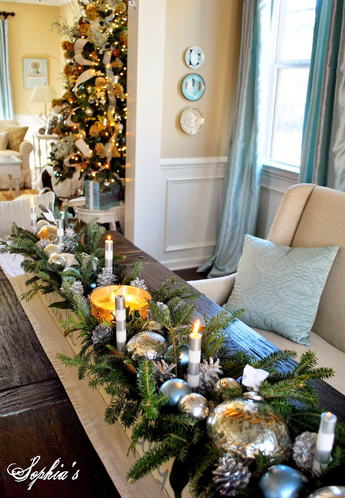 Decorating With Natural Elements Highlights Of Christmas Pasts