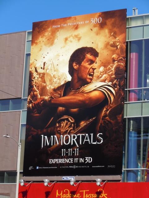 Theseus Immortals billboard