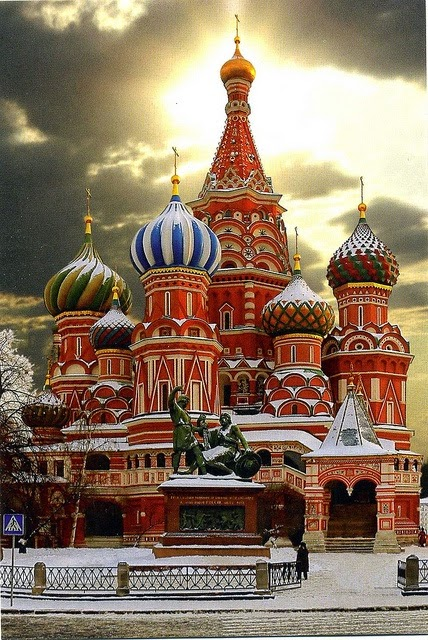 St. Basil's Cathedral Moscow Russia