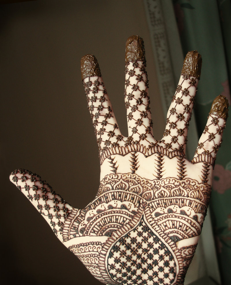 Mehndi Palm Design : Haider munir new mehndi designs