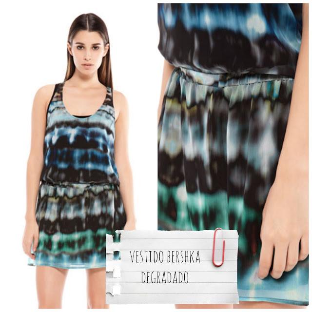 Bershka - Vestido degradado- €25,99