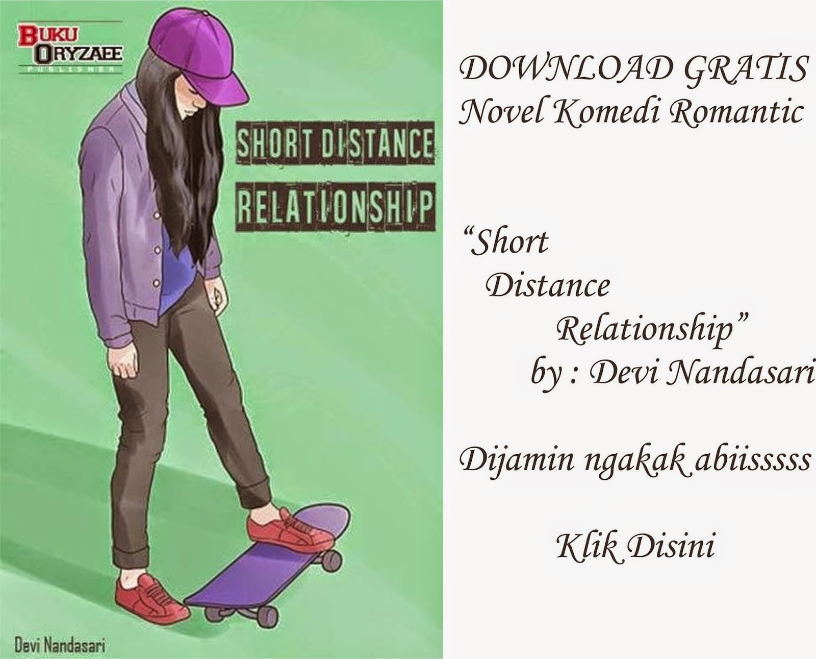 Download Novel Short Distance Relationship FREE