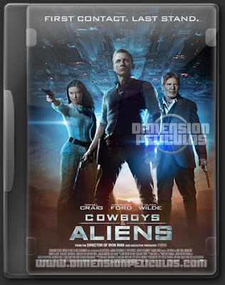 Cowboys & Aliens Extended (BRRip HD Dual Español Latino) (2011)