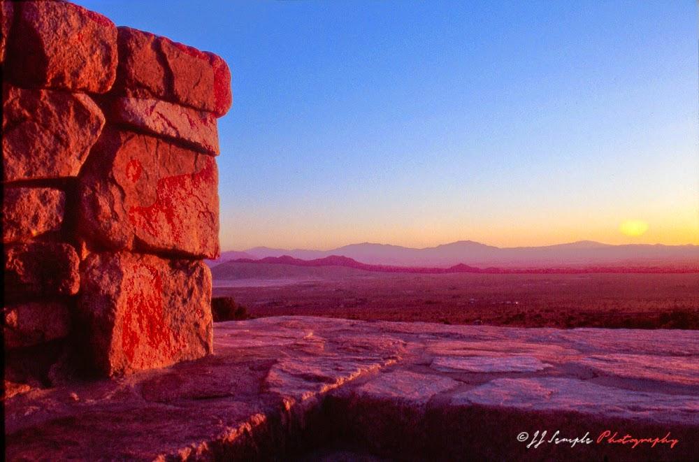 High desert near San Bernardino, CA