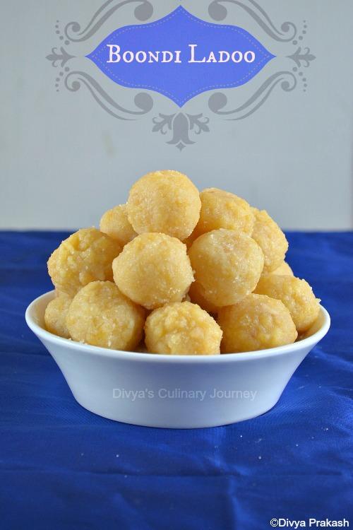 Boondhi Ladoo recipe