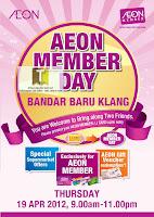AEON Member Day Bandar Baru Klang