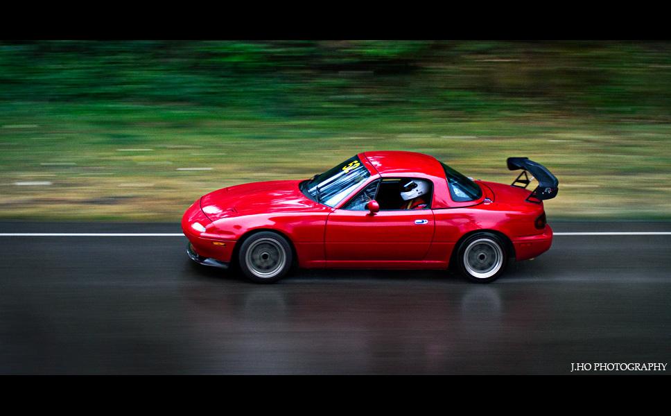 Mazda MX-5 NA , japoński sportowy samochód, tuning, JDM, wyścigi