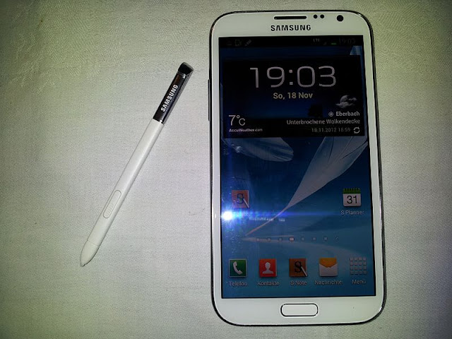 Galaxy Note leaked image 1