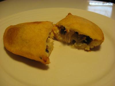 gluten free chicken empanada
