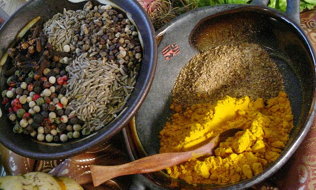 turmeric and black pepper food synergy combination
