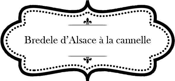 Biscuits d'Alsace à la cannelle