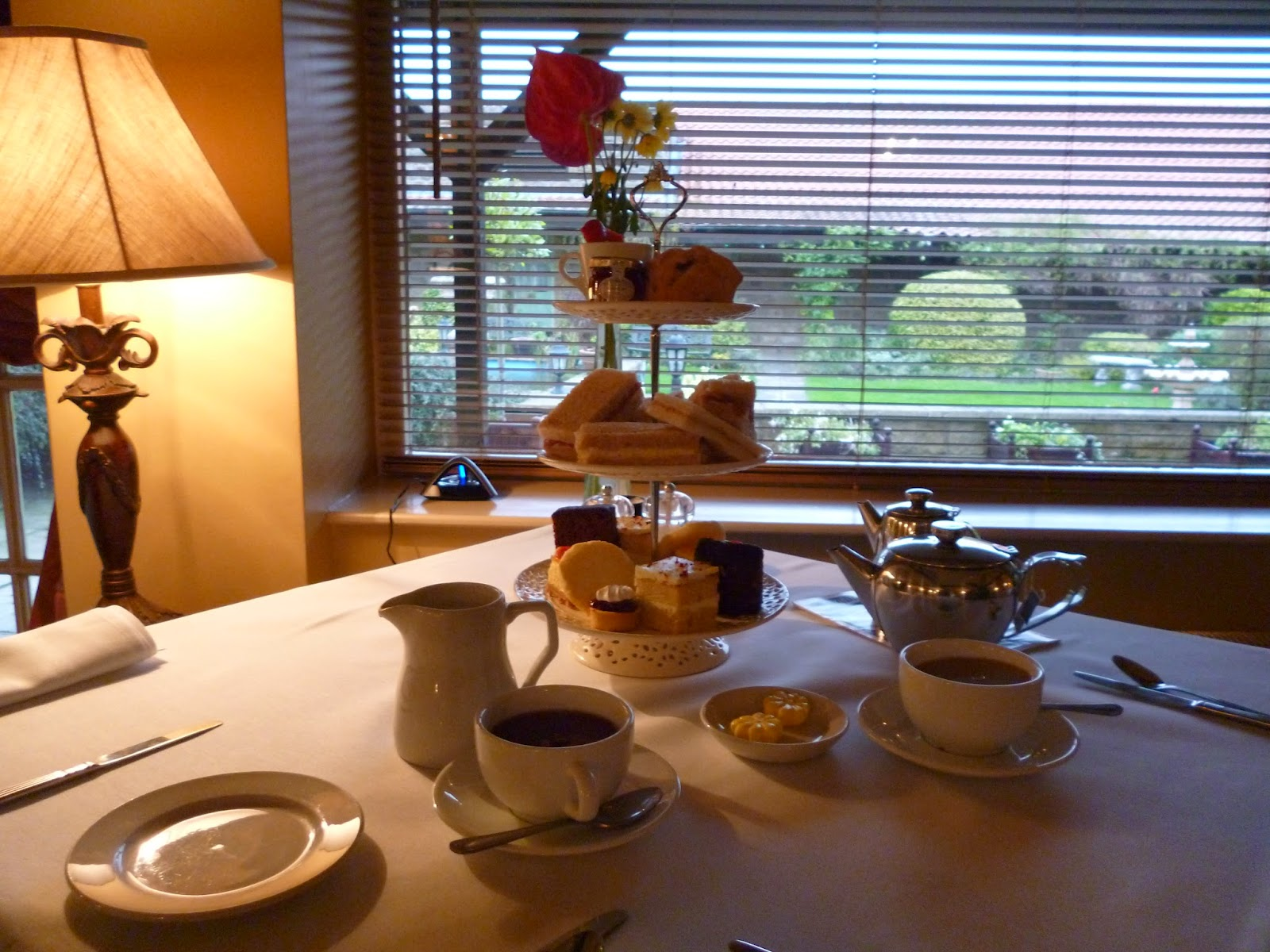 Afternoon Tea at Ox Pasture Hall Hotel, Scarborough