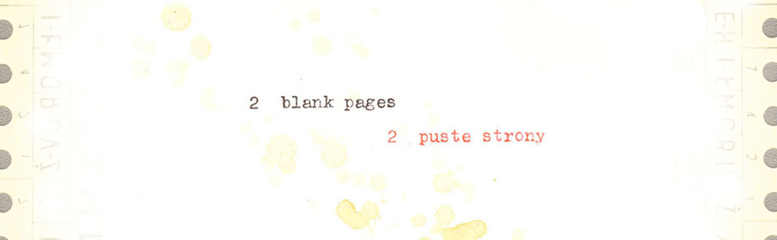 2 Blank Pages