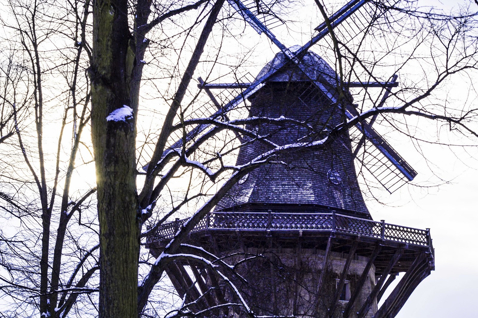 Windmühle, Verloren - Jasmin Braun.