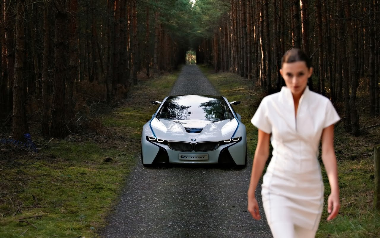BMW Vision EfficientDynamics Front, HD Wallpaper