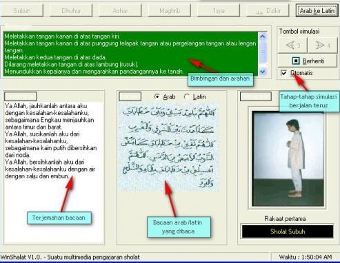 software simulasi solat software panduan belajar solat