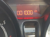 1000 km odometer