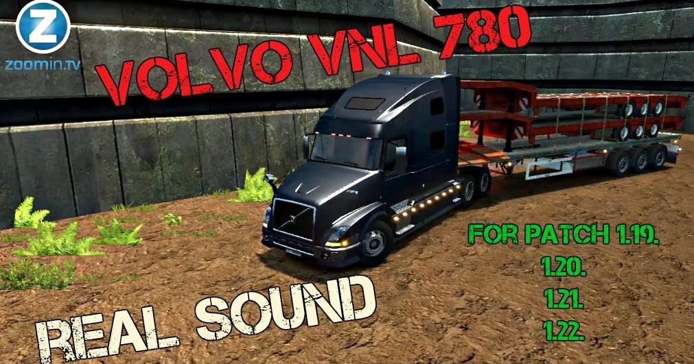 Caminh o volvo vnl 780 som v 1 2 para v 1 22 x by tantur blog euro truck 2 melhores