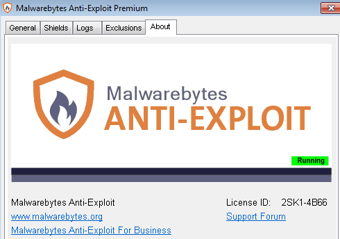Malwarebytes ANTI – EXPLOIT Premium Universal Patch + Any Version Regkeys
