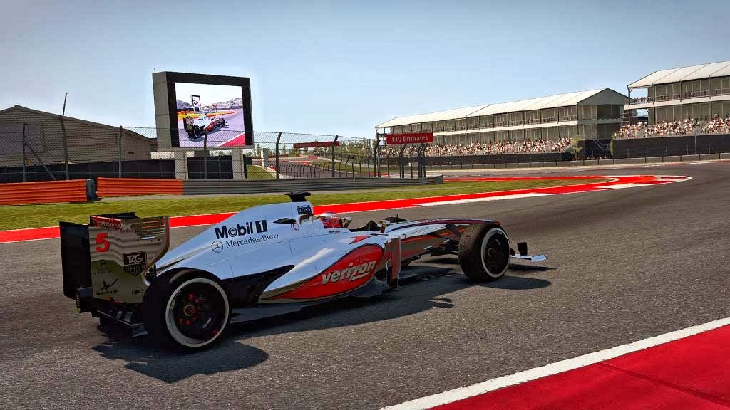 McLaren MP4-28 Verizon - F1 Fast Lap - The Beauty and Pion of ...