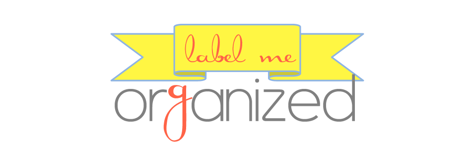 Label Me Organized
