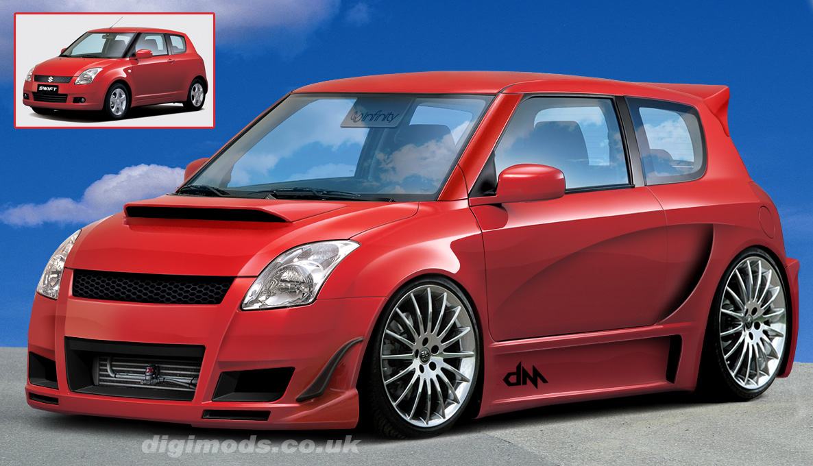 Sport Cars: suzuki swift modified