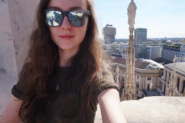 Megan Georgie Milan Duomo