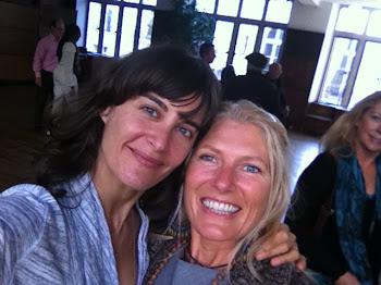 Elena Brower & me....