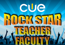Register for a CUE Rockstar Camp!