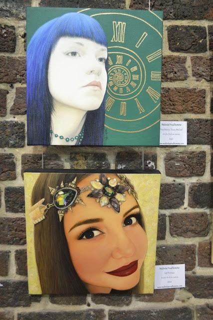 exhibit here, rare art, london art, london, canadian artist, malinda prudhomme, portrait, toronto artist, toronto portrait artist, toronto artist in london, menier gallery, realism, beauty art