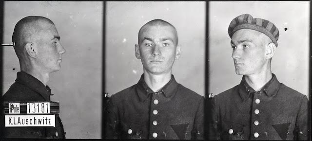 Tadeusz Jakóbiec nr obozowy 13181 (zginął w Auschwitz 6.10.1942)