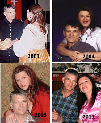 Ten years worth of the same hairstyle | Retro Gran