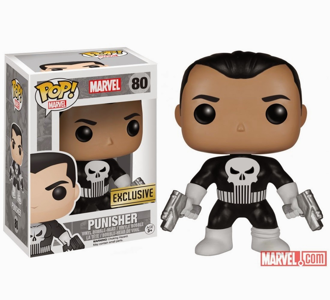 Walgreens Exclusive The Punisher Pop! Marvel Vinyl Figure by Funko