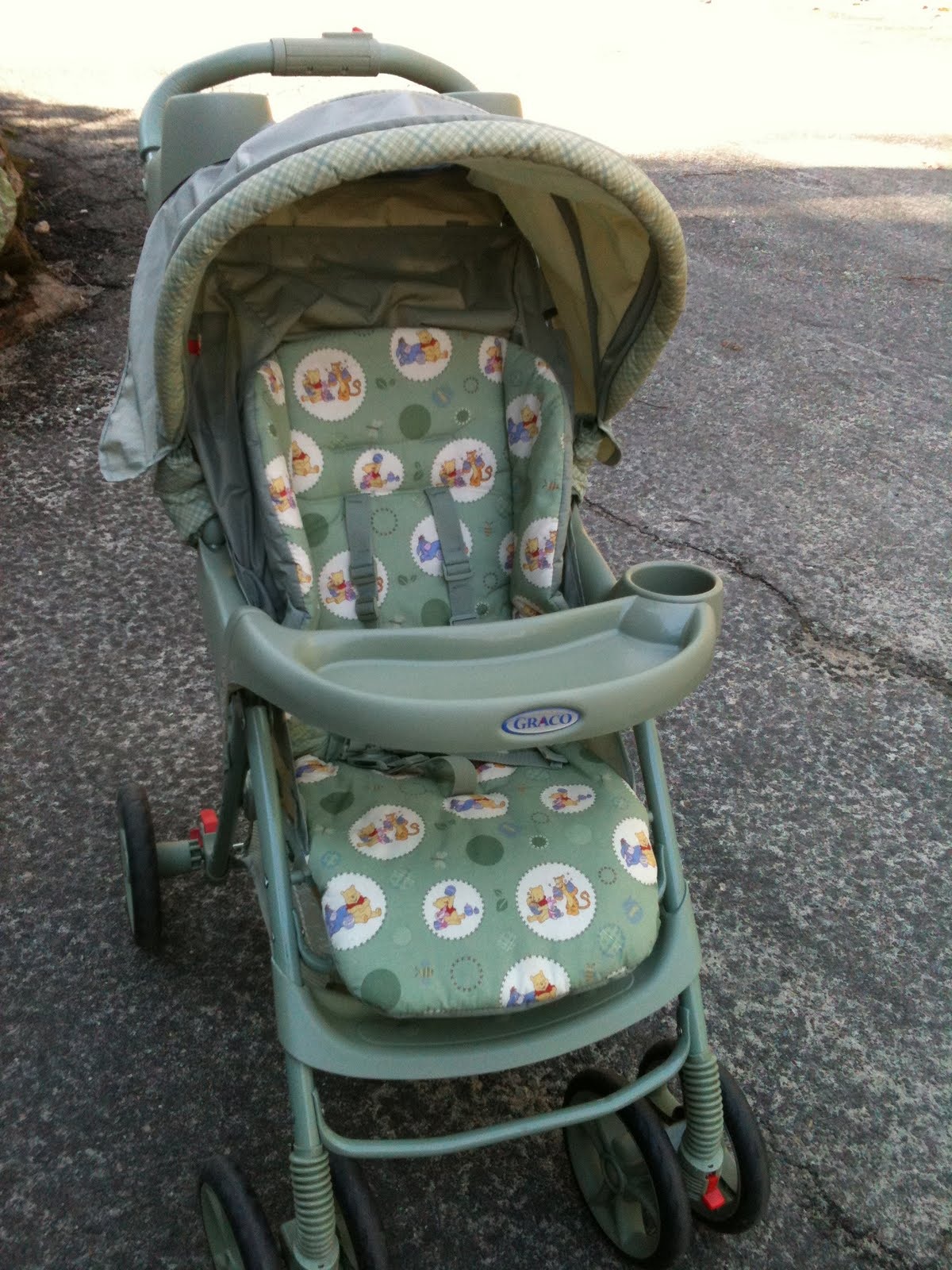 Moving Sale Sold Graco Winnie The Pooh Stroller 20