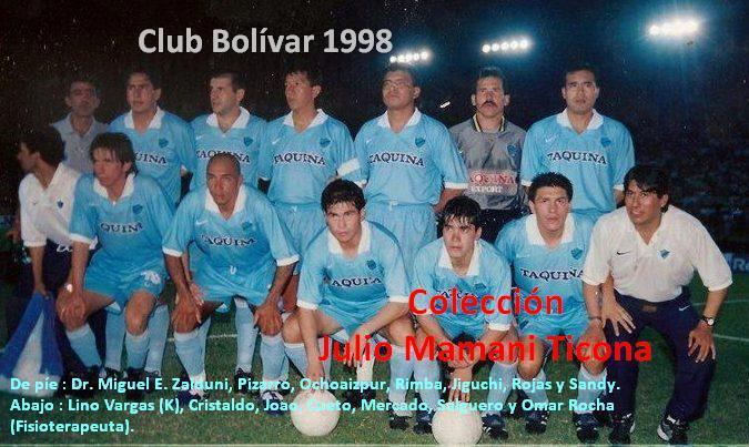 'bolivar campeon