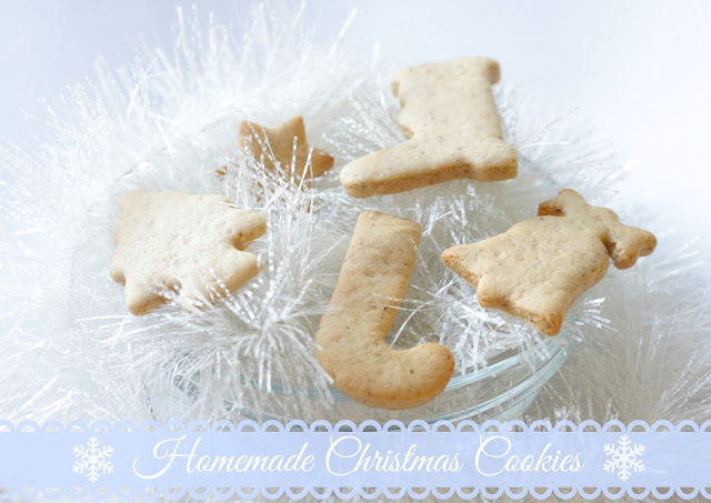 Homemade Christmas Cookies Recipe